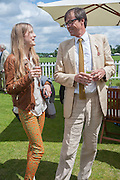 OLYMPIA CAMPBELL; RODERICK CAMPBELL Cartier Queen's Cup. Guards Polo Club, Windsor Great Park. 17 June 2012