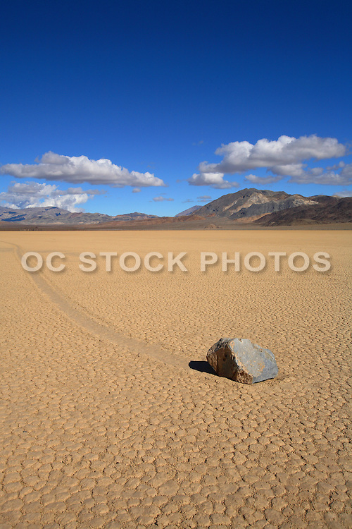 The Race Track At Death Valley National Park