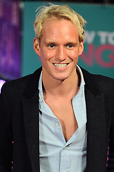 © Licensed to London News Pictures. 09/02/2016. London, UK. JAMIE LAING attends the UK film premiere of 'How To Be Single'.  The film is about a woman writing a book about bacherlorettes who becomes embroiled in an international affair while researching abroad<br /> Photo credit: Ray Tang/LNP