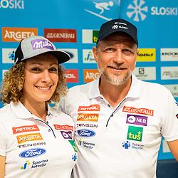 20190610: SLO, Alpine Ski - Presentation of Ilka Stuhec's new team