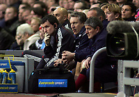 Photo: Paul Thomas.<br /> Liverpool v Sheffield United. The Barclays Premiership. 24/02/2007.<br /> <br /> Neil Warnock (C), manager of Liverpool.
