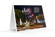 "Photo Art Christmas Card - Inverell NSW. Printed on 350gsm matte card, 174 x 123mm, blank inside, envelope included, packaged in sealed poly bag. Available in quantities of 5 for $20 or 10 for $30, includes Australian delivery. Click ""Add to Cart"" to order. Normally ships within 2 business days."