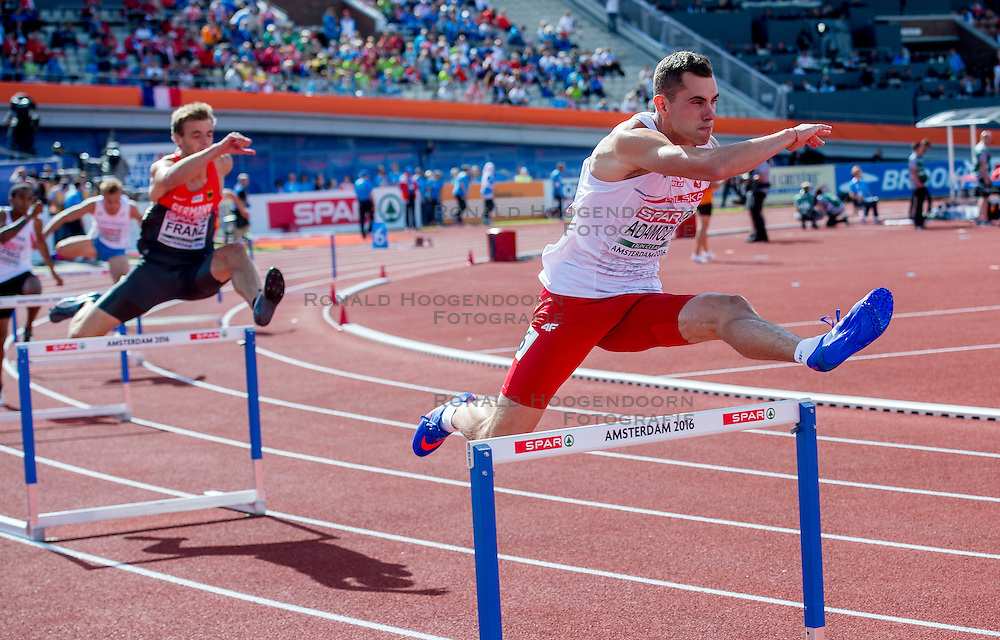 06-07-2016 NED: European Athletics Championships, Amsterdam<br /> Patryk Adamczyk POL