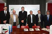 DESCRIZIONE : Milano Mediolanum Forum di Assago Commissione FIBA in visita per assegnazione dei Mondiali 2014<br /> GIOCATORE : Boris Stankovic Markus Studar Predrag Bogosavljev Massimo Cilli Dino Meneghin <br /> SQUADRA : Fiba Fip<br /> EVENTO : Visita per assegnazione dei Mondiali 2014<br /> GARA :<br /> DATA : 31/03/2009<br /> CATEGORIA : Ritratto<br /> SPORT : Pallacanestro<br /> AUTORE : Agenzia Ciamillo-Castoria/G.Ciamillo<br /> Galleria : Italia 2014<br /> Fotonotizia : Milano visita per assegnazione dei Mondiali 2014<br /> Predefinita : si