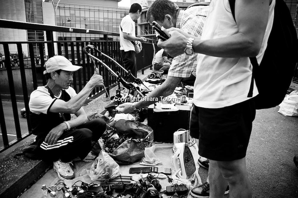 Mercato delle pulci di Montreuil.