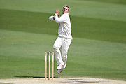 Felix Organ of Hampshire bowling during the Bob Willis Trophy match between Sussex County Cricket Club and Hampshire County Cricket Club at the 1st Central County Ground, Hove, United Kingdom on 3 August 2020.