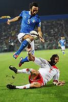 Mattia Cassani (Italia)  Alexander Muscat (Malta)<br /> 11/09/2012 Modena<br /> Football Calcio 2012 / 2013 <br /> Qualificazioni Mondiali 2014<br /> Italia vs Malta<br /> Foto Insidefoto / Antonietta Baldassarre