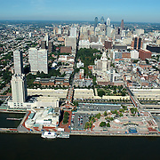 Aerial view of Philadelphia, Pennsylvania