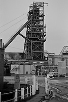 Sharlston Colliery. British Coal North Yorkshire Area. 06.02.1992.