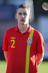 Elliot Hewitt (Ipswich Town) of Wales - Photo mandatory by-line: Joe Meredith/JMP - Tel: Mobile: 07966 386802 06/02/2013 - SPORT - FOOTBALL - Stebonheath Park - Llanelli -  Wales U21s V Iceland U21s - U21s International friendly