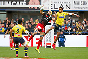 Virgile Bruni to LOU, Fritz Lee to ASM during the French championship Top 14 Rugby Union match between ASM Clermont and Lyon OU on November 18, 2017 at Marcel Michelin stadium in Clermont-Ferrand, France - Photo Romain Biard / Isports / ProSportsImages / DPPI