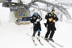 Ana Bucik of Slovenia prior to the 1st Run of 50th Golden Fox Audi Alpine FIS Ski World Cup Ladies Slalom, on February 2, 2014 in Podkoren, Kranjska Gora, Slovenia. (Photo By Matic Klansek Velej / Sportida.com)