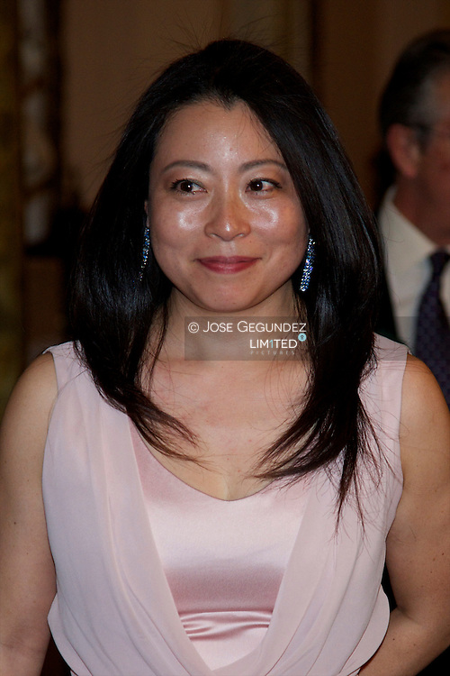 Mine Kawakami attends the presentation of Barbara Hendricks' Memories, 'In Own Voice (En propia voz)' at Casino de Madrid on May 23, 2013 in Madrid