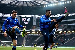 Victor Adeboyejo and Alex Rodman of Bristol Rovers - Mandatory by-line: Robbie Stephenson/JMP - 01/01/2020 - FOOTBALL - Stadium MK - Milton Keynes, England - Milton Keynes Dons v Bristol Rovers - Sky Bet League One