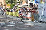 Ciclismo giovanile, 10A Coppa di Sera, Esordienti Primo Anno Maschile, Borgo Valsugana 10 settembre 2016 <br /> Oioli Manuel<br /> &copy; foto Daniele Mosna
