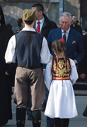 16.03.2016, Belgrad, SRB, der Britische Kronprinz Charles und seine Frau Camilla besuchen Serbien, im Bild British Crown Prince Charles during visiti in Serbia visited the Temple of Saint Sava, one of the largest Orthodox churches in the world that is in use. EXPA Pictures © 2016, PhotoCredit: EXPA/ Pixsell/ Srdjan Ilic<br /> <br /> *****ATTENTION - for AUT, SLO, SUI, SWE, ITA, FRA only*****