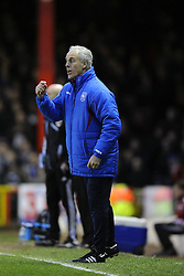 Ipswich Town Manger, Mick McCarthy - Photo mandatory by-line: Joe Meredith/JMP  - Tel: Mobile: 07966 386802 - 26/01/2013 - Bristol City v Ipswich Town - SPORT - FOOTBALL - Championship -  Bristol  - Ashton Gate Stadium -