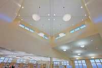 Maryland Interior Design Photographer Jeffrey Sauers of Commercial Photographics Image of Harford County Public Library Whitford Branch interior for Mullan Contracting Company and Lawrence Howard and Associates