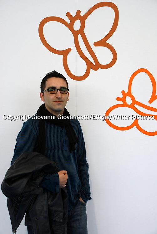 Salvatore Cobuzio, Salone Internazionale del Libro di Torino, maggio 2010.<br /> <br /> 14/05/2010<br /> Copyright Giovanni Giovannetti/Effigie/Writer Pictures<br /> NO ITALY, NO AGENCY SALES