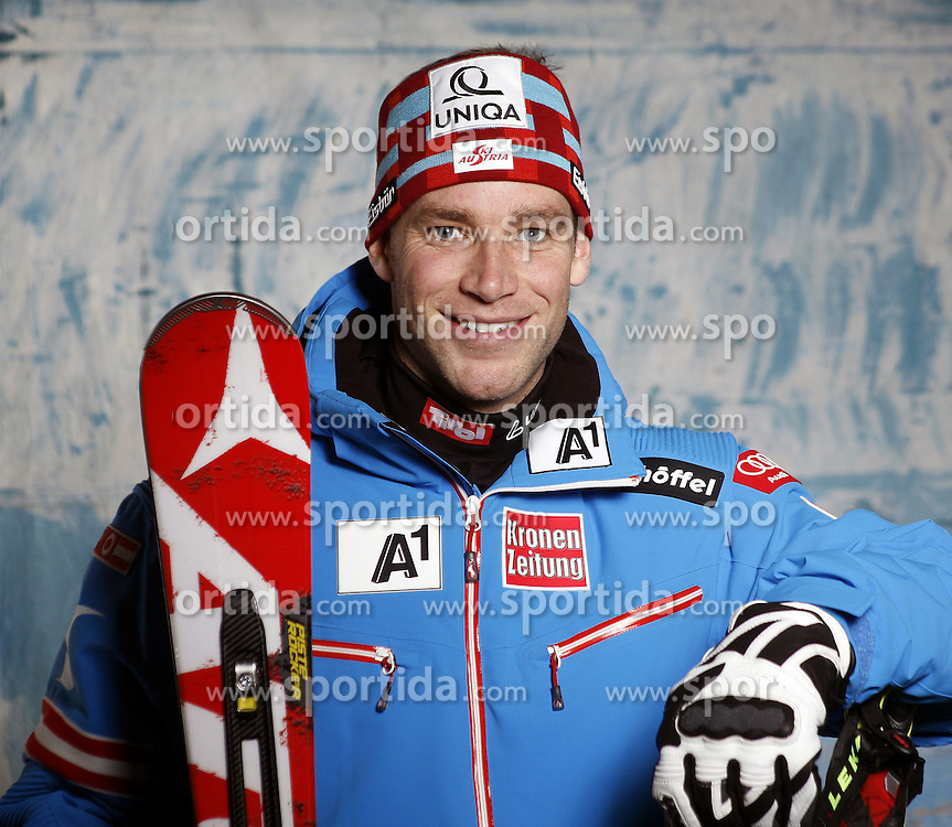 20.10.2012, Messehalle, Innsbruck, AUT, OeSV, Ski Alpin, Fototermin, im Bild Benjamin Raich (OeSV, Skirennlaeufer) // during the official Portrait and Teamshooting of the Austrian Ski Federation (OeSV) at the Messehalle, Innsbruck, Austria on 2012/10/20. EXPA Pictures © 2012, PhotoCredit: EXPA/ OeSV/ Erich Spiess