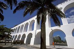 Rio de janeiro, RJ, Brasil.   2004.Arcos da Lapa./ Lapa's Arcs.Foto © Marcos Issa/Argosfoto