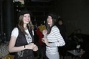 Georgina Tons and Gabriella Assiz, Pepe Jeans, Sienna Miller  new ambassador party. 17 Berkeley Street, London, W1.  4 October 2006. -DO NOT ARCHIVE-© Copyright Photograph by Dafydd Jones 66 Stockwell Park Rd. London SW9 0DA Tel 020 7733 0108 www.dafjones.com