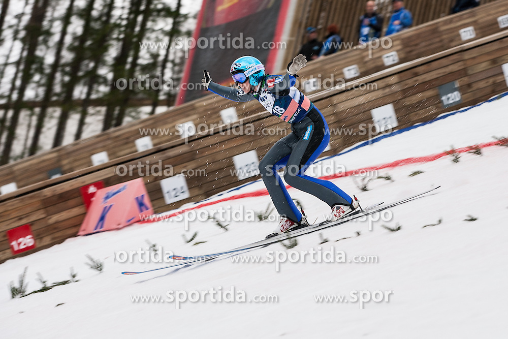 Jahr Line of Norway during Large Hill Individual Event at 3rd day of FIS Ski Jumping World Cup Finals Planica 2014, on March 22, 2014 in Planica, Slovenia. Photo by Grega Valancic / Sportida