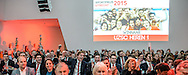 17-02-2016: Uitreiking sportprijs Utrecht 2015: Utrecht<br /> <br /> UZSC wint de prijs als sportploeg van het jaar 2015<br /> <br /> In de Jaarbeurs in Utrecht vindt de uitreiking van de sportprijs 2015 plaats welke georganiseerd is door VSU en gemeente Utrecht.<br /> <br /> Foto: Gertjan Kooij