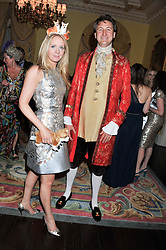 Editor of tatler KATE REARDON and ALEX FIELD at Tatler's Jubilee Party in association with Thomas Pink held at The Ritz, Piccadilly, London on 2nd May 2012.