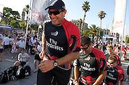 SPAIN, Barcelona, AUDI MedCup, 25th July 2010,  Camper Regatta - Conde de Godo Trophy, Prizegiving ceromony,  Emirates Team New Zealand.