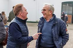 Herbert Ulonska im Gespräch<br /> Klein Offenseth - Hengstschau Stall Hell 2020<br /> © www.sportfotos-lafrentz.de/Stefan Lafrentz
