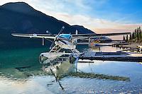 Cessna Grand Caravan N208LB at Northern Rockies Lodge on Muncho Lake BC
