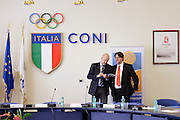 Conferenza stampa per la presentazione del campionato Under 20 che si terr&agrave; a Lignano Sabbiadoro<br /> Nella foto: Giovanni Adami<br /> Agenzia Ciamillo/Castoria