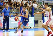 LIGNANO SABBIADORO, 07 LUGLIO 2015<br /> BASKET, EUROPEO MASCHILE UNDER 20<br /> ITALIA-CROAZIA<br /> NELLA FOTO: Tommaso Laquintana<br /> FOTO FIBA EUROPE/CASTORIA