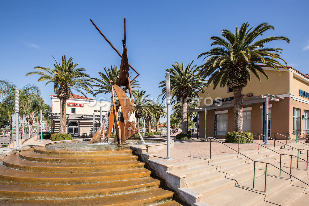 City Place Shopping Center at Main Street and Memory Lane Santa Ana