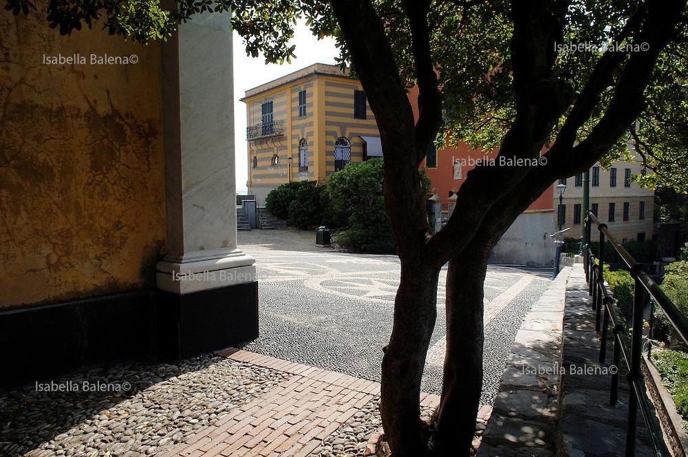 Sozzani's home in Portofino, Italy, june 22, 2007
