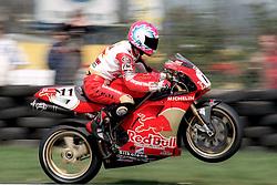 STEVE HISLOP RED BULL DUCATI,  BSBC British Superbike Championship Donington Park  13th April 1997S/B DONINGTON 13/4/1997