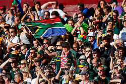 South Africa fans - Mandatory byline: Rogan Thomson/JMP - 07966 386802 - 26/09/2015 - RUGBY UNION - Villa Park - Birmingham, England - South Africa v Samoa - Rugby World Cup 2015 Pool B.