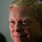 Rep. Richard Gephardt (D-MO) campaigns Sunday, January 18, 2004, in Pella, IA...Photo by Khue Bui