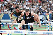 Sergey Shubenkov (ANA) competes in Men's 110m Hurdles during the Meeting de Paris 2018, Diamond League, at Charlety Stadium, in Paris, France, on June 30, 2018 - Photo Jean-Marie Hervio / KMSP / ProSportsImages / DPPI