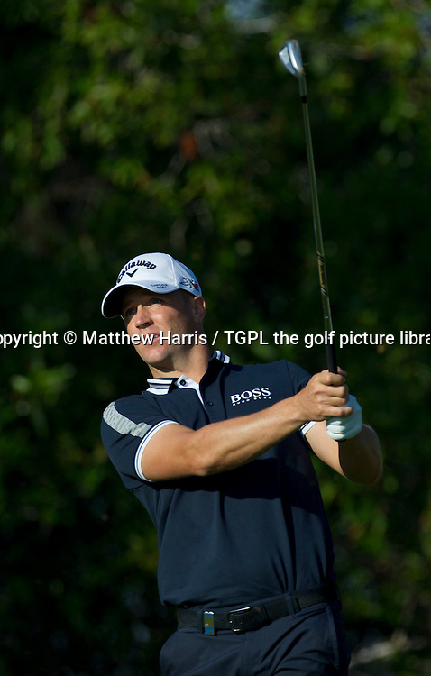 Alex NOREN (SWE) during first round Abu Dhabi HSBC Golf Championship 2016, Abu Dhabi GC,Abu Dhabi,UAE.