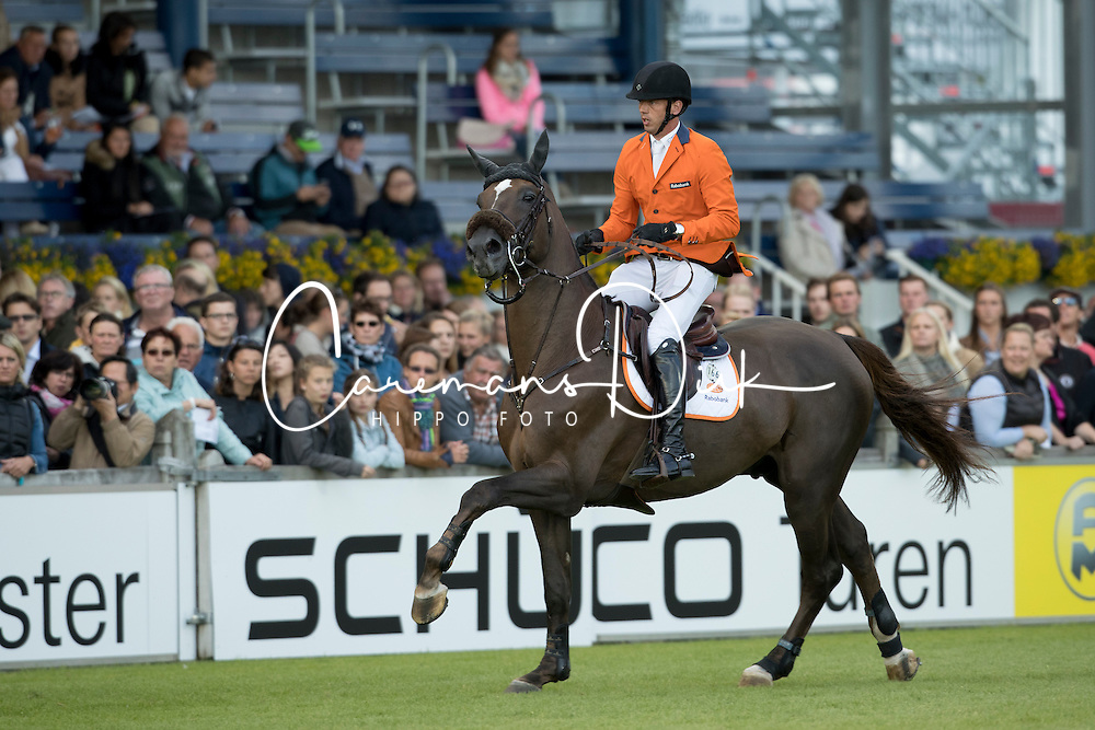 Smolders Harrie, (NED), Don VHP Z<br /> Nations Cup<br /> Mercedes-Benz Nationenpreis<br /> CHIO Aachen 2016<br /> &copy; Hippo Foto - Dirk Caremans<br /> 14/07/16