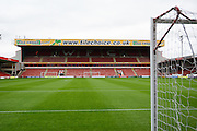 Banks's stadium during the Capital One Cup match between Walsall and Chelsea at the Banks's Stadium, Walsall, England on 23 September 2015. Photo by Alan Franklin.
