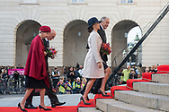 03.10.2017. Copenhagen, Denmark. <br /> Princess Marie, Princess Benedikte attended the opening session of the Danish Parliament (Folketinget) at Christiansborg Palace in Copenhagen, Denmark.<br /> Photo: © Ricardo Ramirez