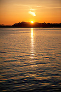 Sunset, Sitka, Southeast, Alaska
