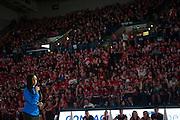 Halftime of Gonzaga Day game vs. Memphis Jan. 31. (Gonzaga photo/ Austin Ilg)