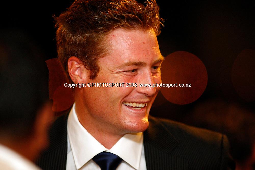 Martin Guptill. Auckland Cricket Awards Evening. Eden Park, Auckland, New Zealand. Wednesday 15 April 2009. Photo: Simon Watts/PHOTOSPORT
