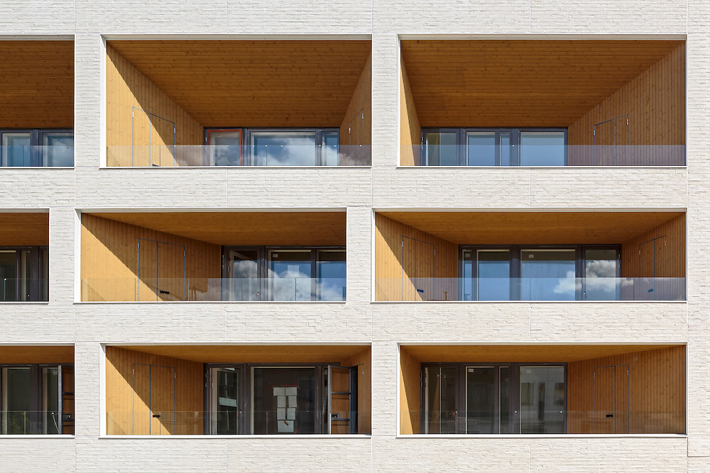 Kotisaarenkatu apartments in Helsinki, designed by Playa architects.