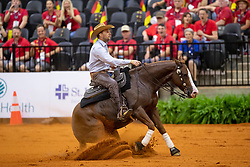 LUDWIG Grischa (GER), Ruf lil Diamond<br /> Tryon - FEI World Equestrian Games™ 2018<br /> Reining Teamwertung und 1.Einzelqualifikation<br /> September 2018<br /> © www.sportfotos-lafrentz.de/Dirk Caremans