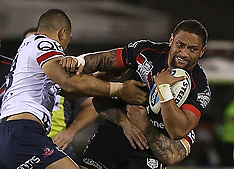 Auckland - Rugby League - Warriors v Roosters
